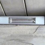Verlichting in een tunnel