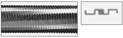 flexibele RVS buis type-fg